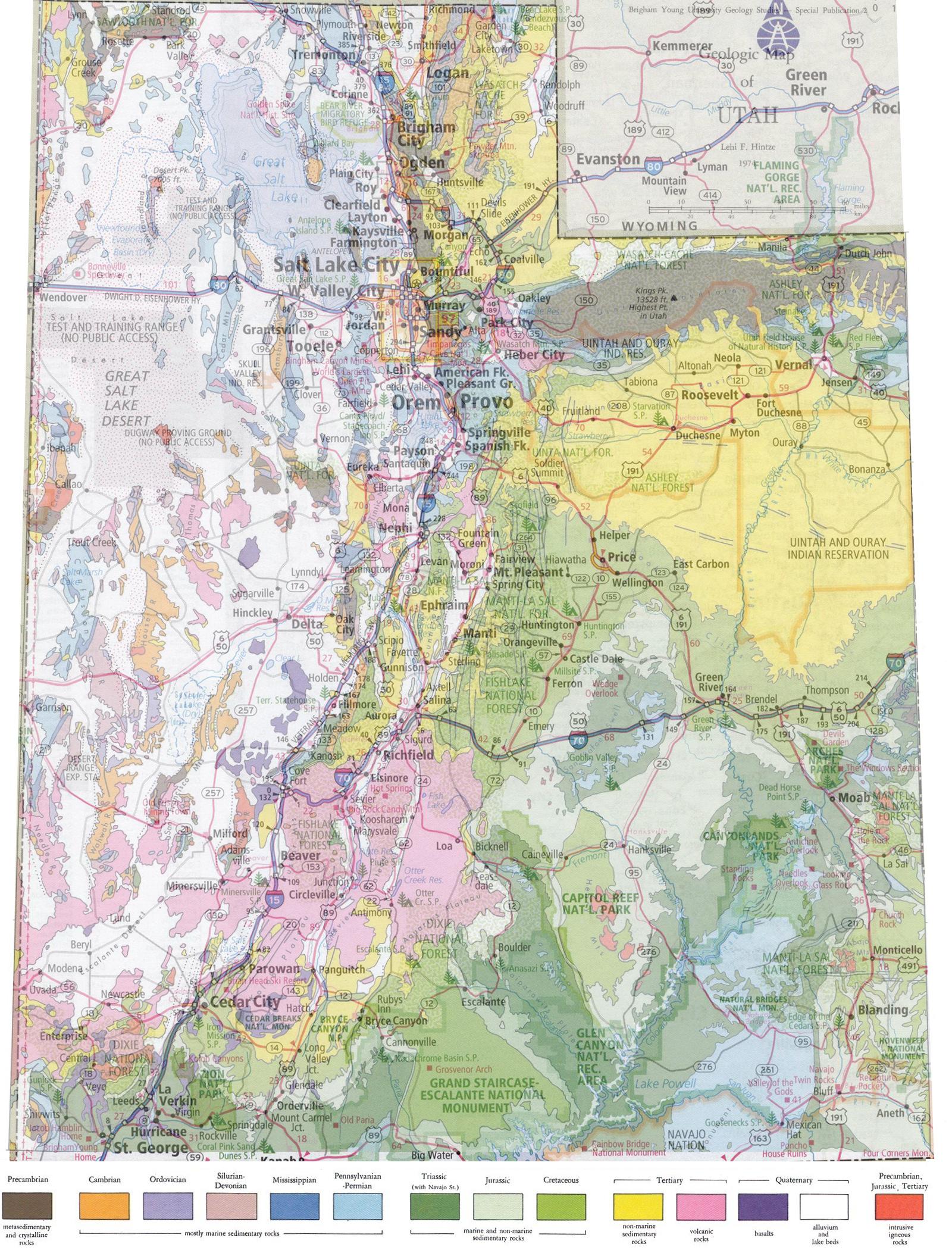 Rockhounding Utah Truck Camper Hints