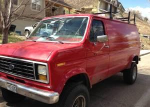 Truck Camper Hints 4WD Van for $7,500