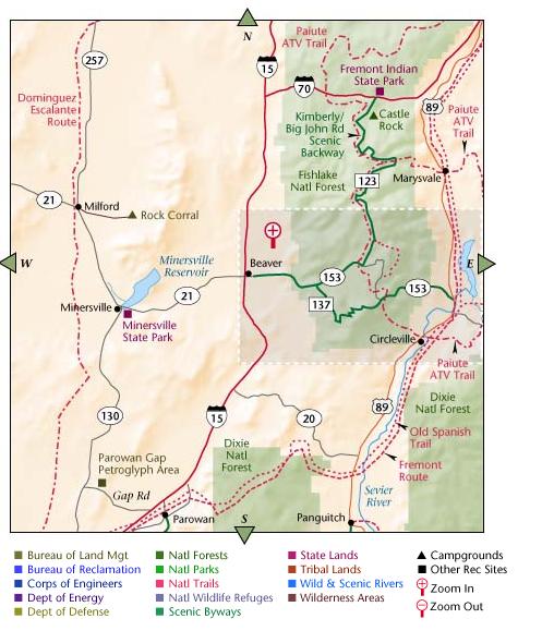 Maps Of Public Lands  Truck Camper Hints