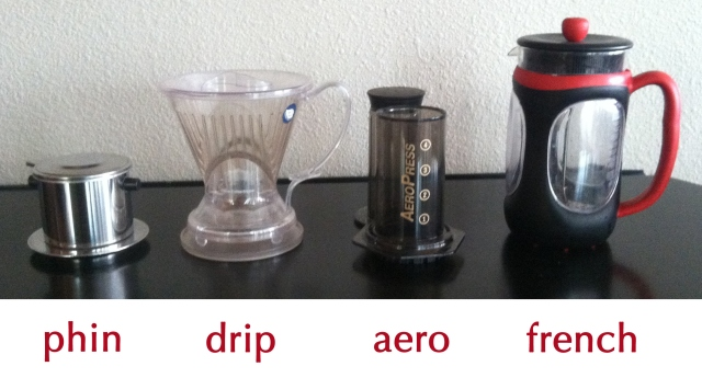 Coffee choices for living in a truck camper