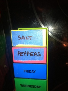 Spice Box Labels for Truck Camper
