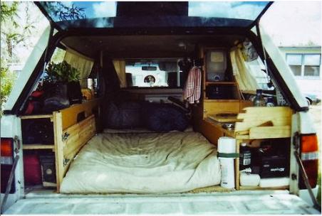 Truck Camper Bed