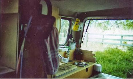 Truck Camper Bed by Elkins