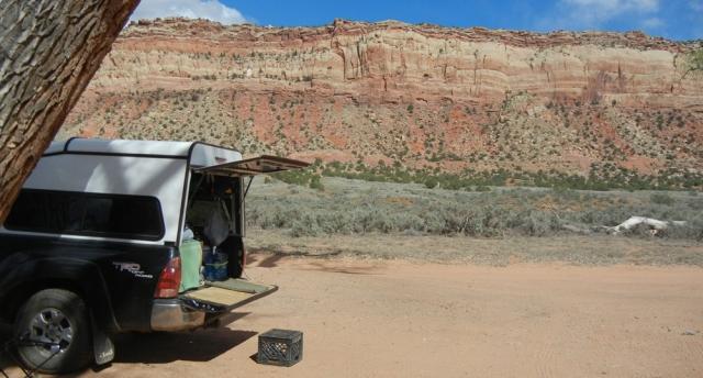 Comb Wash Camp Spot