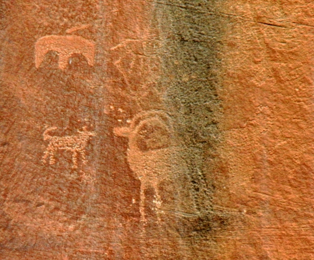 Capitol Reef Petroglyph