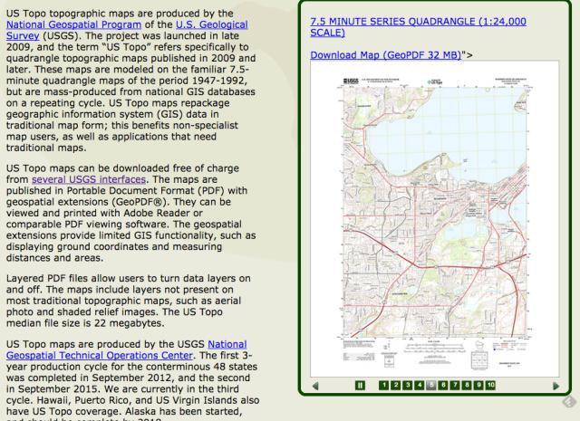 USGS topos