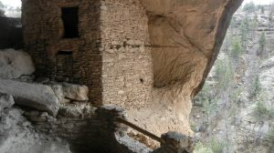 Gila Cliff Dwellings Inside
