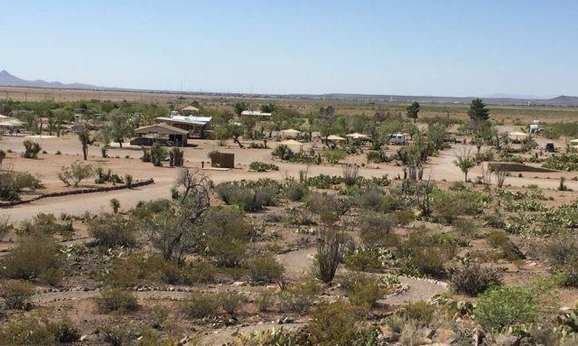 NM State Park Pancho Villa