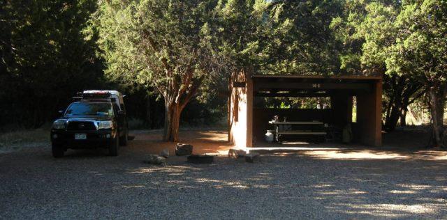 Villanueva State Park Shelter