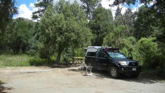 cimarron canyon campground