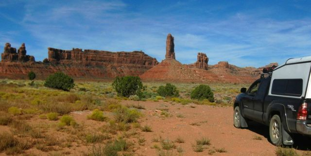 Valley of Gods Boondocking
