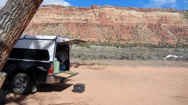 Sandy Wash Boondocking
