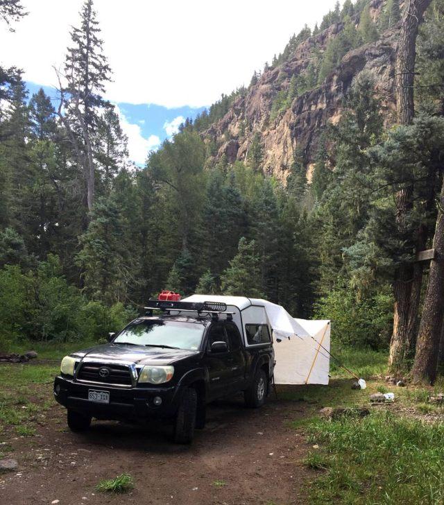 West Fork dispersed camping