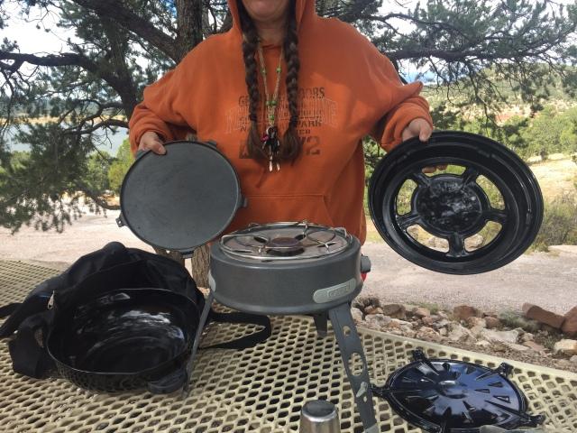 flipPak Lady met while truck camping