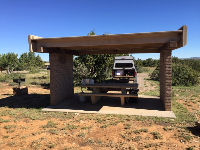 NM State park truck camping