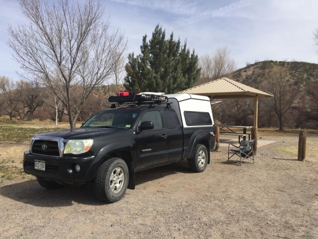 NM Caballo Camping