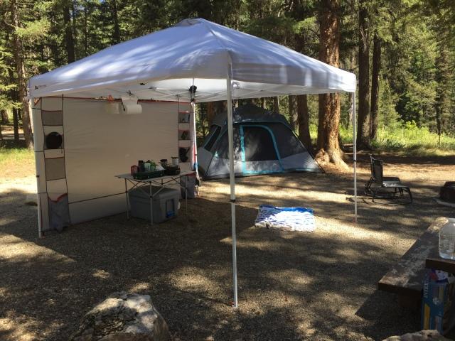 fishermen's tent