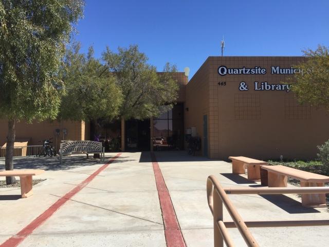 Quartzsite Library