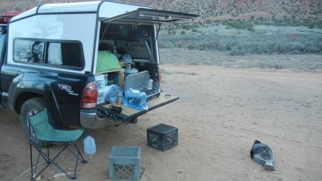 Camping mess