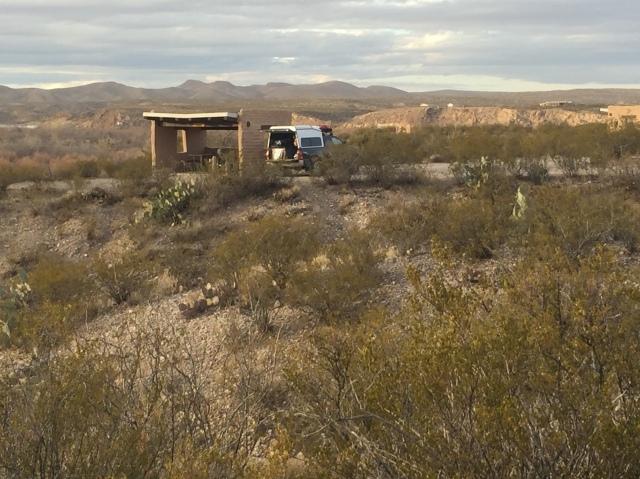 camped in NM