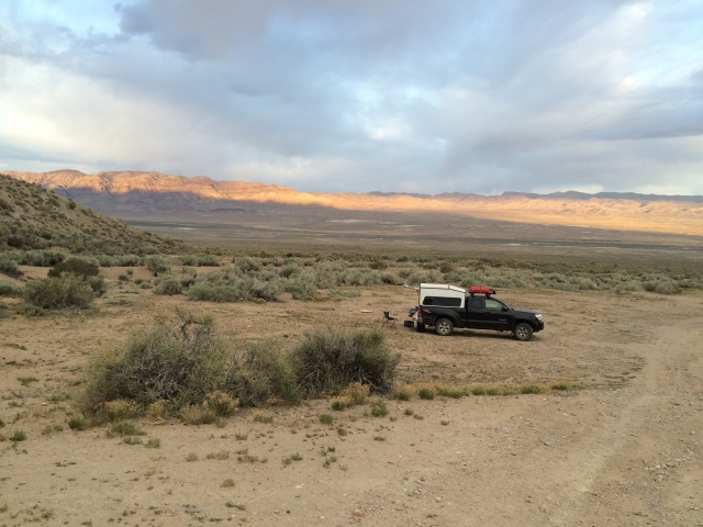 A.R.E. Topper in the Utah desert