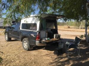 Bouse Camping Shade