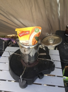Easiest Truck Camping Meal